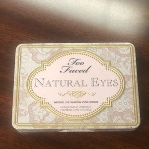 Too Faced Makeup - Too faced natural eyes